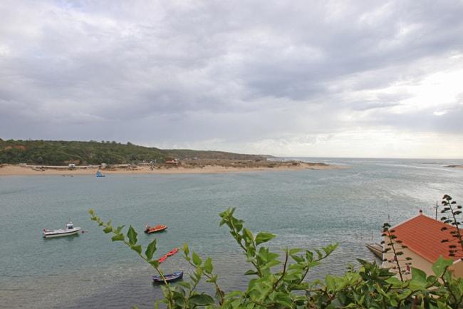 Una delle tante insenatura lungo la costa dell'Alentejo