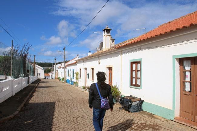 Le tipiche case di Santa Clara-a-Velha