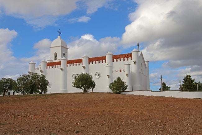 La chiesa di Mina de Sao Domingo