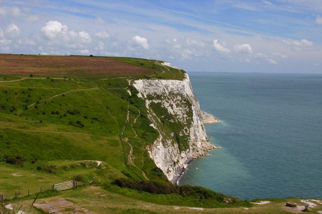 Inghilterra, le scogliere di Dover