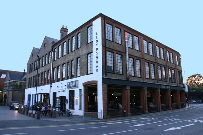 Inghilterra, pub a Guildford