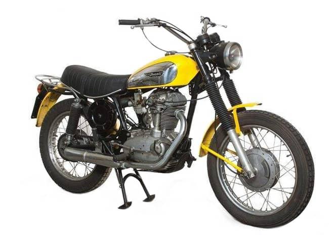 La Ducati Scrambler 450 degli anni '70