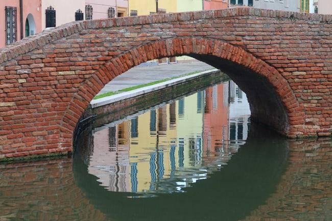 I canali di Comacchio.