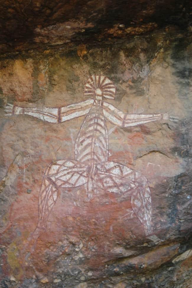 Australia, Incisioni rupestri al Naurlangie Park