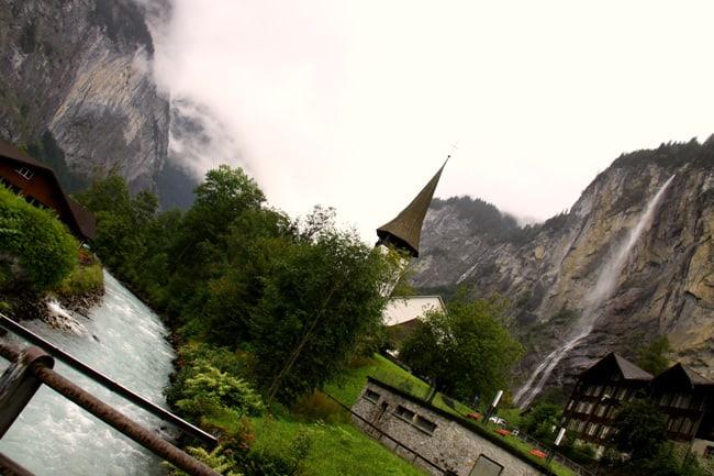 Canton Bernese, verso trummelbachfalle