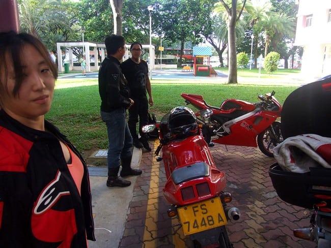 Una moto che è diventata un Mito anche dall'altra parte del Globo