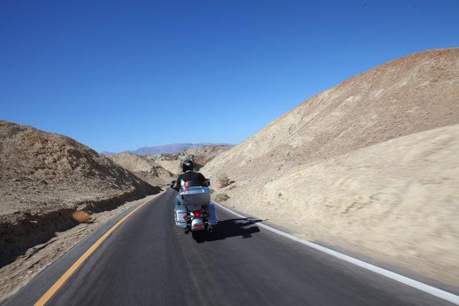 Artistic Drive, all'interno del Parco della Death Valley