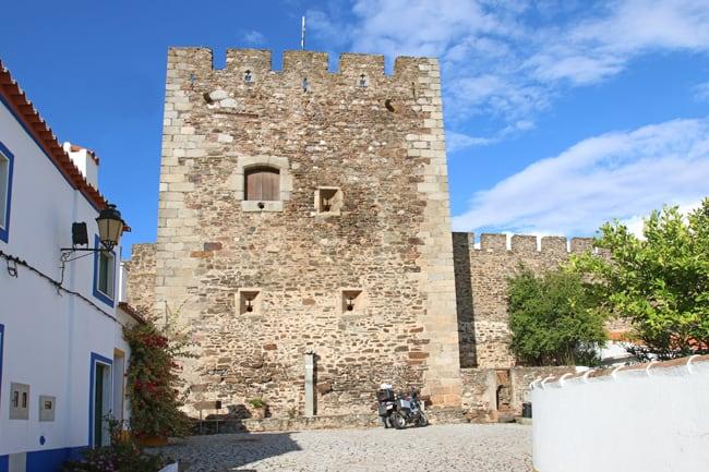 Alentejo in moto, seconda parte. I castelli sul confine. Il castello di Terena.