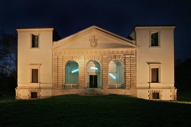 Terra Berica: Villa Pisani Bonetti a Bagnolo di Lonigo (VI), progettata dall'architetto Andrea Palladio.