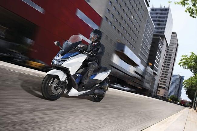 Le novità Honda 2015 al Motor Bike Expo di Verona.  Il Forza 125.