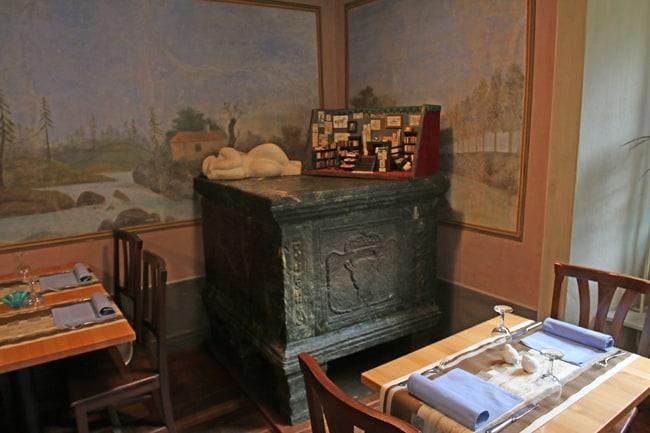 Il Dazio Grande è curato da una fondazione che l'ha ottimamente restaurato e che offre ristorazione e ospitalità.