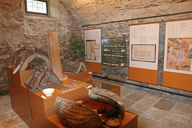 Il piccolo museo all'interno del Dazio Grande