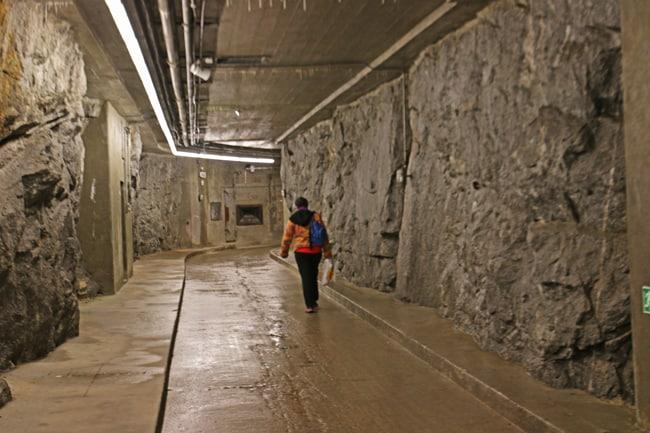 All'interno del Sasso da Pigna ci sono chilometri di gallerie scavate nella roccia