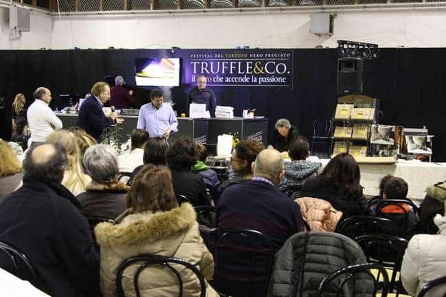 Truffle&Co. Uno dei momenti della manifestazione