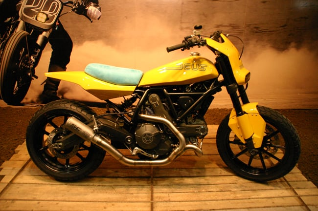 Lo Scrambler Ducati di Deus Ex Machina