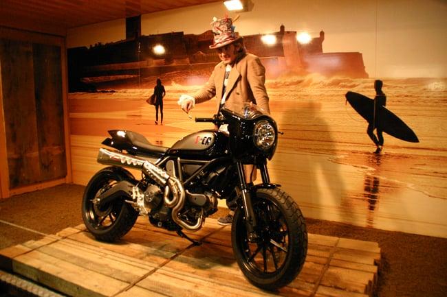Lo Scrambler Ducati di Mr Martini