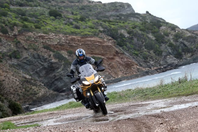 Prova Aprilia Caponord 1200 Rally