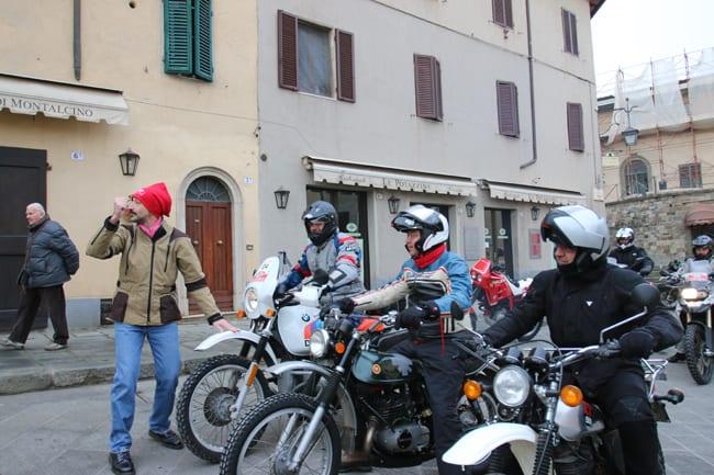 Andrea Leggieri dà il via ai partecipanti