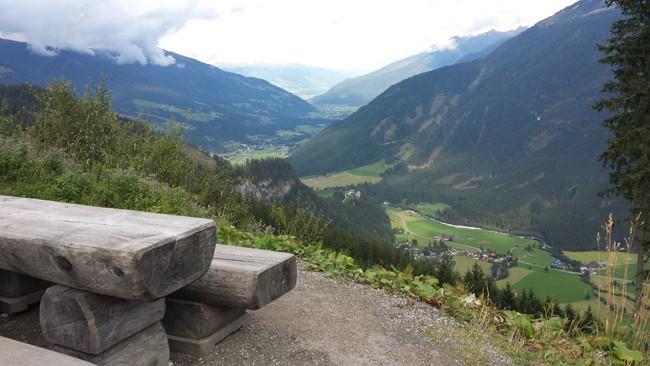 Le migliori strade alpine da fare in moto: Vipiteno–Fusch.Veduta dalla Gerlos AlpenStrasse