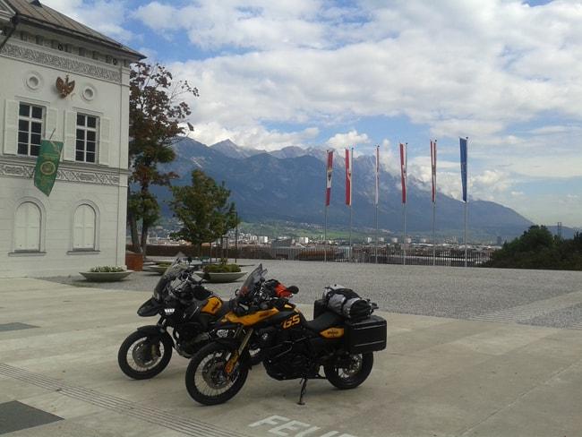 Il Museo Kaiserjagermuseum con terrazza  su Innsbruck