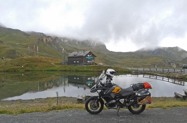 Fusch/Dobbiaco, 3° tappa delle strade alpine per moto. Museo della strada del Grossglockner