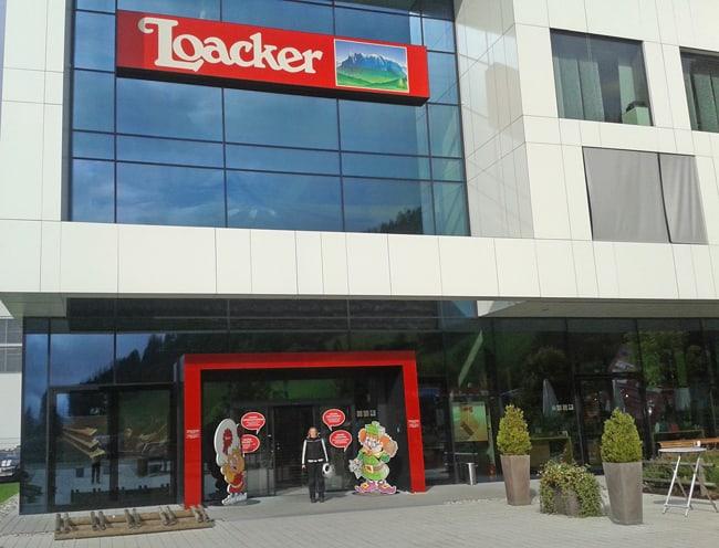 La fabbrica della Loacker