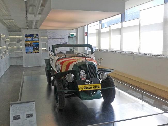 23 Prima auto sul Grossglockner