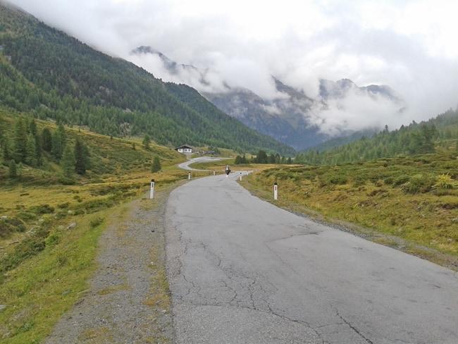 Fusch/Dobbiaco, 3° tappa delle strade alpine per moto Dalla valle Defereggental verso passo Stalle