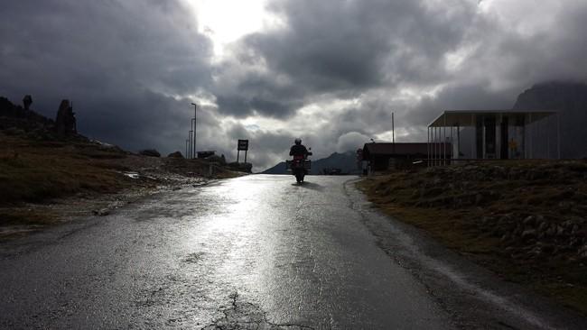 29 Arrivo al Passo Stalle dal versante austriaco