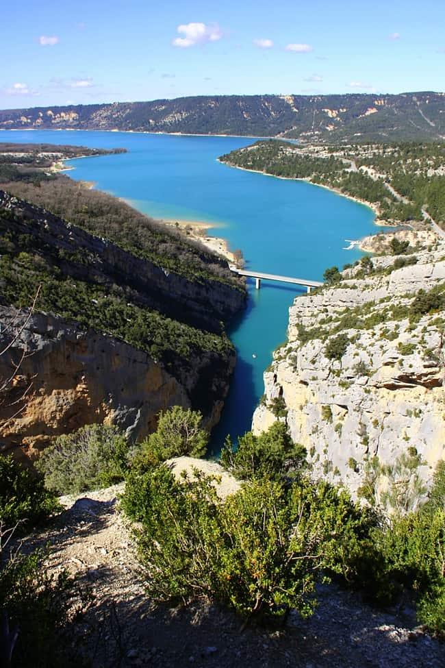 Gole del Verdon - Lac de Sainte Croix
