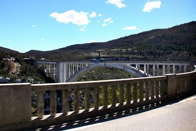 Gole del Verdon - Pont de L'Artuby