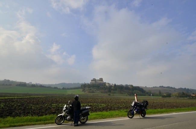 Castelli e buona cucina nel Ducato di Parma e Piacenza. Castello di Torrechiara