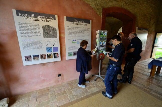 Castelli e buona cucina nel Ducato di Parma e Piacenza.Centro Visite del Parco Fluviale