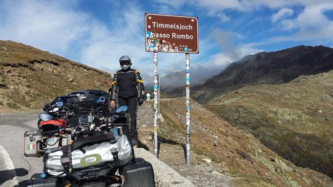 Strade alpine da fare in moto. Il Passo Rombo