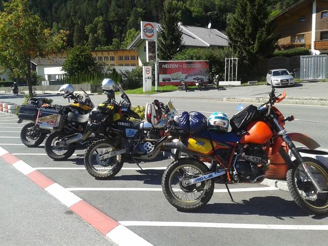 7 Parcheggio del Bikers Grill-Imbiss Sonne
