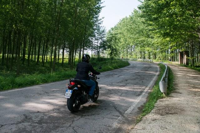 Suzuki Gladius 650 ABS in viaggio-turistico.