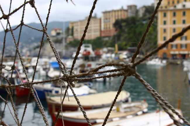 il porto di Camogli