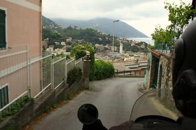 Verso Camogli