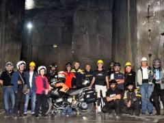 Ingresso alla cava sotterranea dei Fantiscritti (Foto Norberto Ronchi)