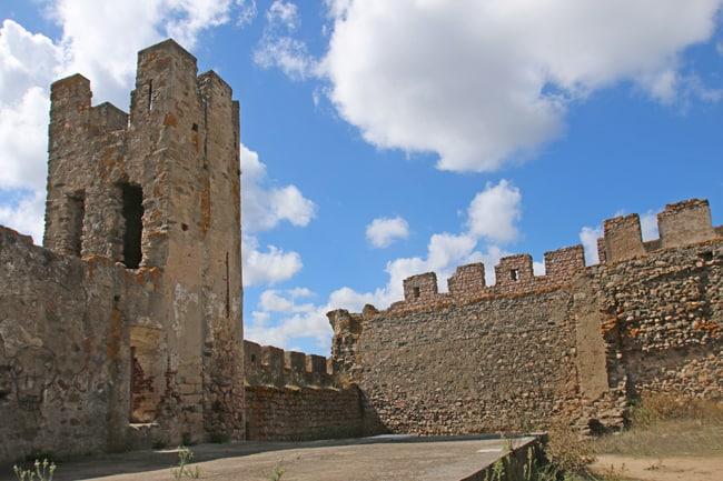 Viaggio in Alentejo. Il castello di Arrajolos