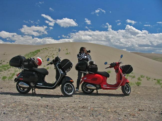 Fotografare in moto, considerazioni e decalogo. Deserto in Idaho - USA