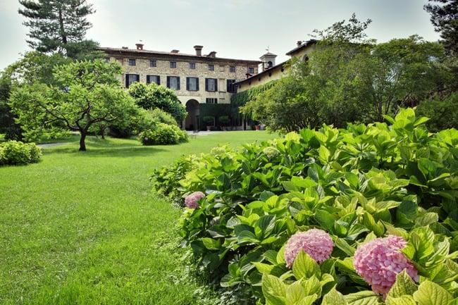 Franciacortando 2015. I giardini di Palazzo Monti della Corte