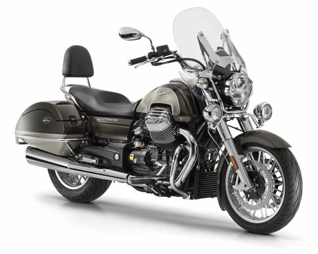 Moto Guzzi California Touring SE marrone executive