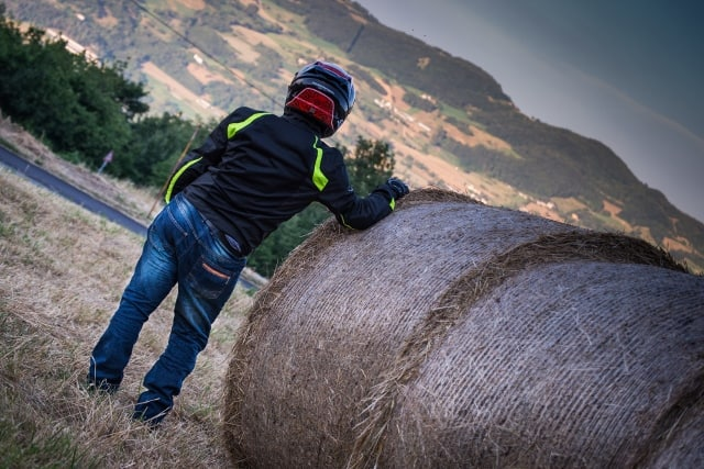 Jeans Stone Hevik effetto invecchiato per un capo anche alla moda