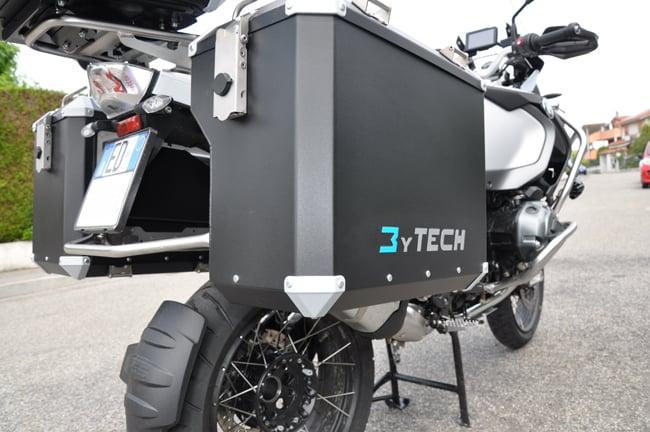 Le borse moto a sgancio rapido MyTech