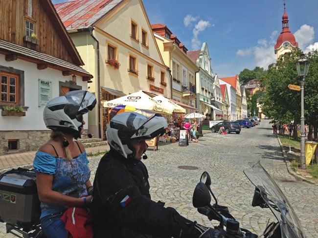 Vacanze in moto in Europa: I colori di Ostrava (Repubblica Ceca)