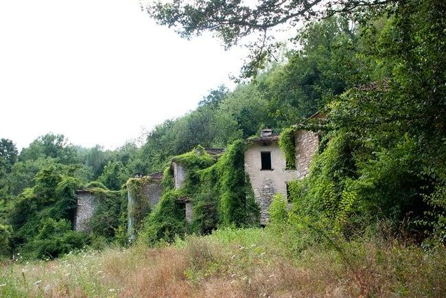 Alla scoperta di alcuni paesi abbandonati in Emilia Romagna: Case Scapini