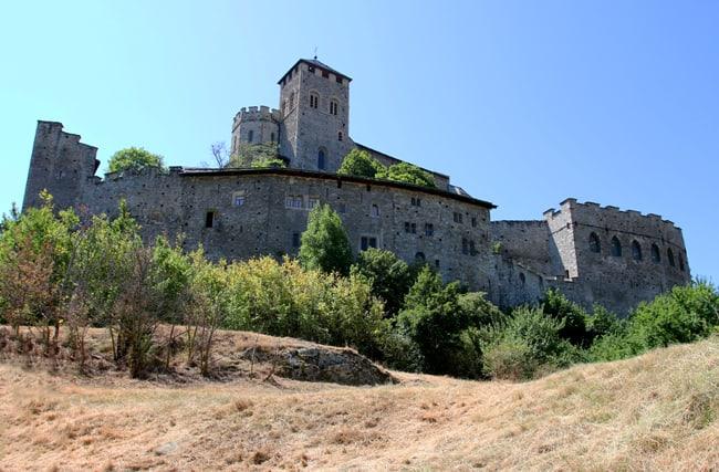 """""""Vini del Vallese...""""La basilica/castello di Valère"""