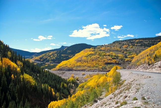Fall Foliage in Colorado, con le 5 strade panoramiche