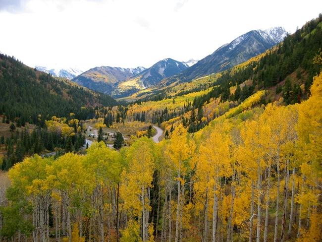 Fall Foliage in Colorado, con le 5 strade panoramiche. West Elk Loop -  Foto di Dave Roberts